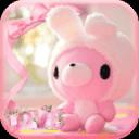 粉色小熊主题 可爱玩具熊主题