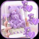 Lavender Theme teddy bear