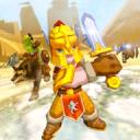 古代帝国战士冲突:史诗般的战斗3D