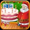 圣诞 甜 蛋糕 制作者 快活 圣诞 蛋糕 制作者 女孩 游戏