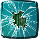 碎玻璃的动态壁纸