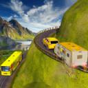 越野野营车卡车模拟器:野营车3D