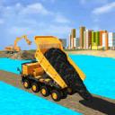 新 路 建设者 市 施工