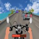 自行车 骑士 在 交通。