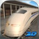 子弹头列车地铁站3D