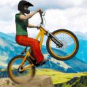 越野BMX自行车赛车:自由式特技车手