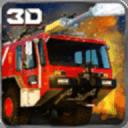911救援消防車3D