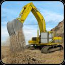 山挖掘机矿用卡车3D