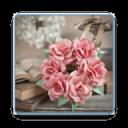 折纸玫瑰花