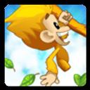猴子喷鼻蕉