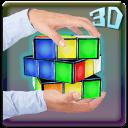 3D Neon Rubik`s