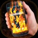 火手机的屏幕