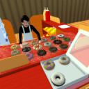 警察甜甜圈餐厅