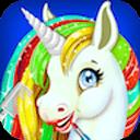 Rainbow Unicorn Makeover Salon