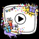 生日快樂 视频制作器 – 照片幻灯片 与音乐