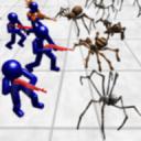 战斗模拟器:蜘蛛和火柴人