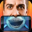 鲨鱼脸部扫描仪恶作剧
