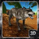 愤怒的狼模拟 - 野兽家庭的生活