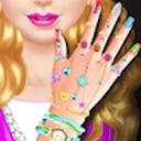 Nail Salon Girl Games