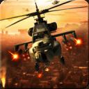 军武装直升机打击沙漠
