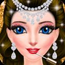 公主化妆和打扮沙龙:女孩小游戏