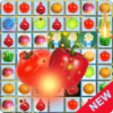 Jewel Star Fruit Bomb & Vegetables Match 3