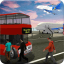 旅游飞机转运 - 飞行模拟器3D