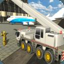 城市机场起重机操作员