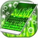绿色火焰键盘