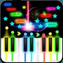 彩色钢琴块