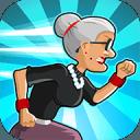 愤怒的老奶奶跑酷