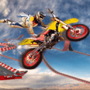 特技 自行车 不可能 曲目 -  种族 摩托 驾驶 游戏