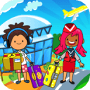 My Pretend Airport - Kids Travel Town FREE