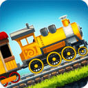 Fun Kids Train Racing Games