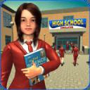High School Girl Simulator: Virtual Life Game 3D