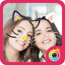 JustShot - AR Selfie camera,Motion Face sticker