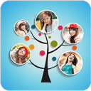 3D Tree Photo Collage Maker