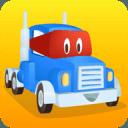 超级卡车卡尔 道路工程: 挖掘,钻孔,搭建