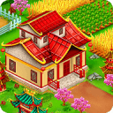 Asian Town Farmer : Build Big Offline Farm