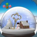 雪球与雪景