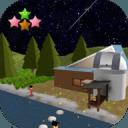 逃脱游戏 : 繁星满天的夜晚和萤火虫