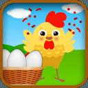 Eggs in Basket Catcher