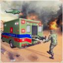 美军救护车救援比赛。