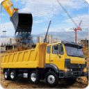 Hill Bridge Construction Crane