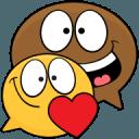 Ochat:有趣的笑脸,表情符号和贴纸免费的聊天应用程序