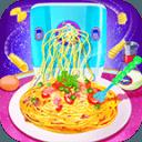 Cooking Pasta In Kitchen