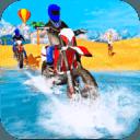 Water Surfing Bike Racing