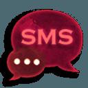 GO SMS Pro Theme Red 短信临主题红色