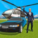 俄罗斯总统豪华轿车和直升机