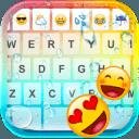 颜色雨表情符号键盘